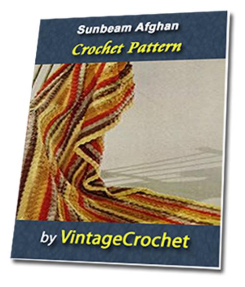 Pay for Sunbeam Afghan Vintage Crochet Pattern