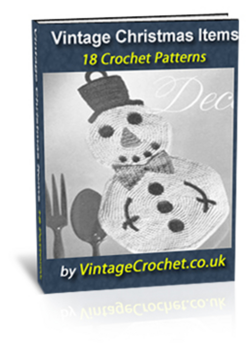 Pay for Vintage Christmas Crochet Patterns Ebook