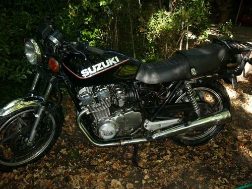 1981 x  z  d  motorcycle