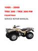 Thumbnail 1995-2000 Honda TRX300 300FW Fourtrax Repair Service Manual