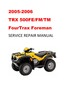 Thumbnail 2005-2006 TRX500FE/FM/TM Fourtrax Foreman Service Manual