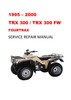 Thumbnail 1995-2000 TRX300 FW FOURTRAX Repair Service Manual
