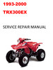 Thumbnail 1993-2000 TRX300EX Service Repair Manual