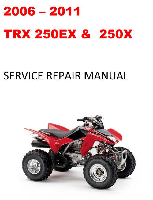 Pay for 2006 2007 2008 2009 2010 2011 TRX250EX 250X repair manual