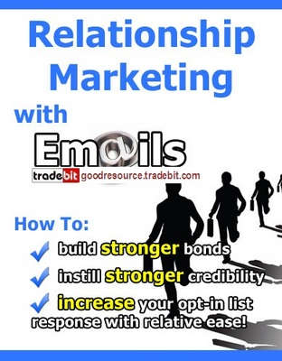 Pay for *New* Relationship Marketing with E-mails with Mrr