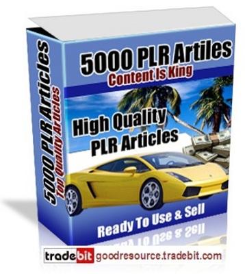 Pay for *New* 5000 Plr Articles with Plr + Bonus