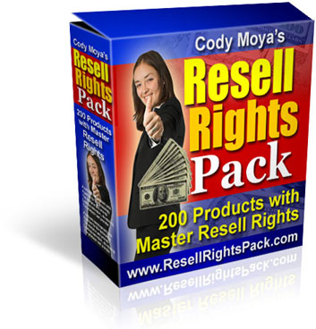 Pay for Cody Moya´s Resell Rights Pack