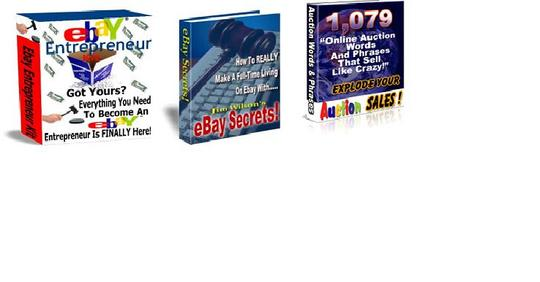 Thumbnail *BEST VALUE* 3-in -1 eBay Pack $7 with Master Resell Rights