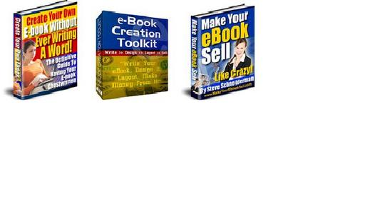 Thumbnail *BEST VALUE* Create Your eBook with this 3-in-1 eBook Pack!