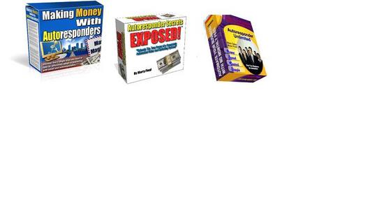 Pay for *BEST VALUE* Complete 3-in-1 Autoresonder Pack - $7 with Master Resell Rights