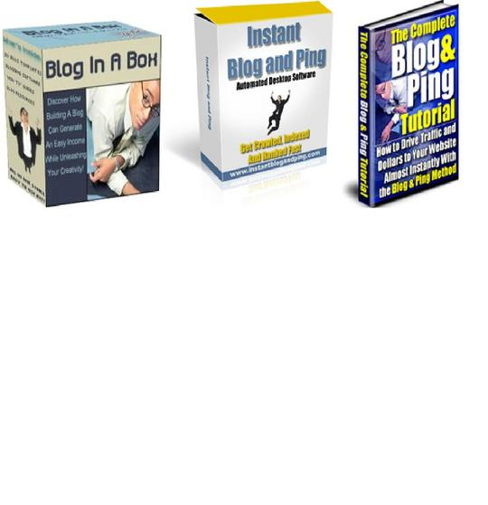 Pay for *BEST VALUE* 3-in-1 Blogging Software Package $7 w/ Master Resell Rights!