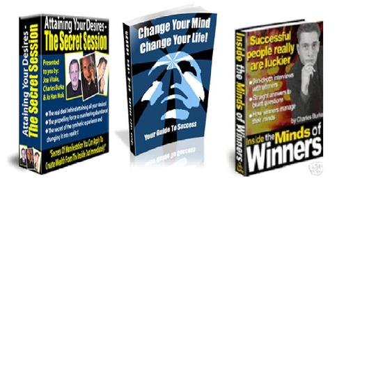 Pay for *SPECIAL OFFER* - 3 in 1 Self-help & Sucess Ebooks  Package for only $7 with Master RessellRights!