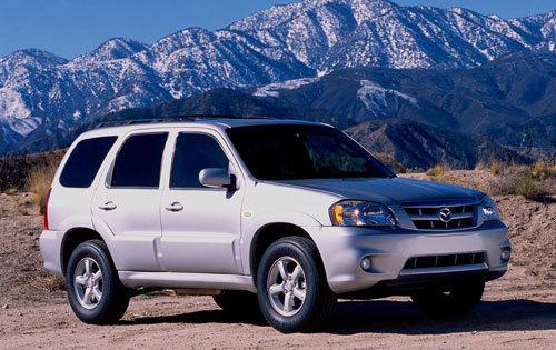 Mazda Tribute 2006. Mazda Tribute 2001 to 2006