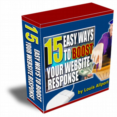 Pay for 15 Ways To Boost Website Response