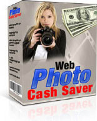 Pay for Web Photo Cash Saver -Comes with Master Resale Rights!