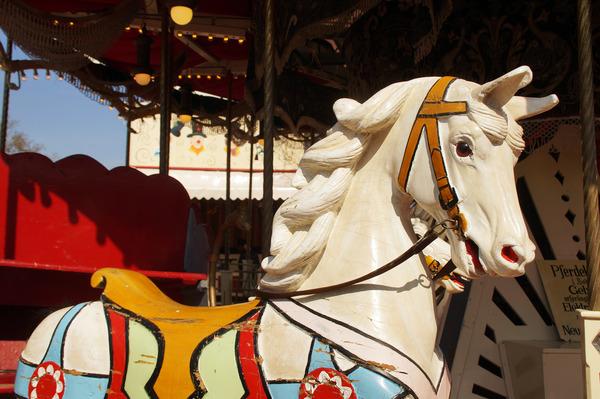 Pay for Historisches Karusselpferd