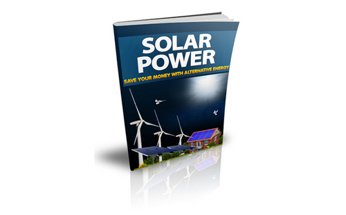 Pay for Solar Power Mini Site