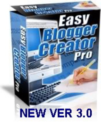 Pay for Easy Blogger Creator Pro Ver 3.0