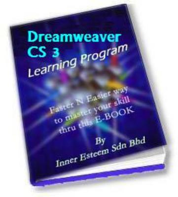 Pay for Dreamweaver CS 3 Training Mastering Tutorial eBook