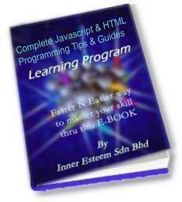 Pay for Complete Javascript & HTML Programming Tips & Guides
