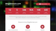 Thumbnail Domain seller Website template