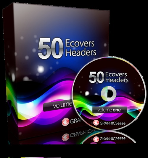 Pay for 50 eCovers & Headers Design Package With MRR