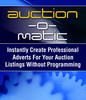 Thumbnail Auction O matic - E-bay Template Software & More!