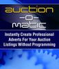Thumbnail Auction O matic - E-bay Template Software & More!