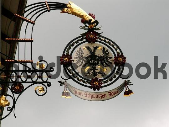 Pay for Guild Sign - wrought iron sign eagle