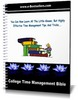 Thumbnail College Time Management Bible
