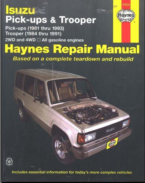 Free CHEVROLET LUV 1981-1993, REPAIR, SERVICE, MANUAL Download thumbnail