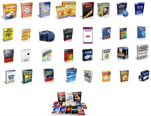 Pay for Internet Marketing Huge Pack - MRR PLR