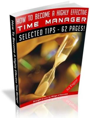 Pay for How To Become A Highly Effective Time Manager