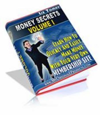 Pay for Money Secrets Volume 1