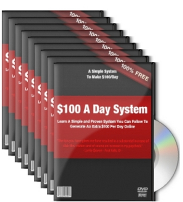Pay for $100 Per Day System