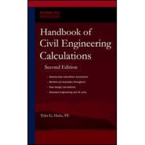 Pay for Handbook of Civil Engineering Calculations
