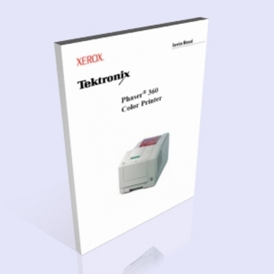 Pay for Tektronix Phaser 360 Service Manual
