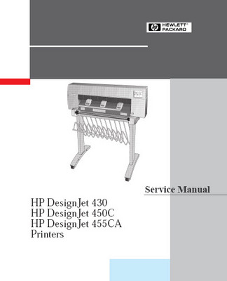 Pay for HP DesignJet 430, 450c, 455ca, Printers Service Manual
