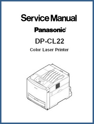 Pay for Panasonic DP-CL22 Color Laser Printer Service Manual