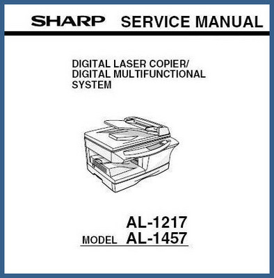 Pay for Sharp AL-1217, AL -1457 Service Manual