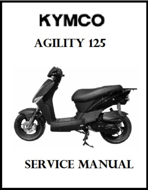 kymco agility 125 scooter service repair manual download manuals rh tradebit com