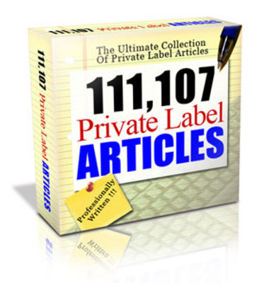 Pay for 111,107 Private Label Articles