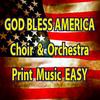 Thumbnail God Bless America CHoir & Orchestration EASY