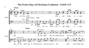Thumbnail 12 Days of Christmas Confusion for SATB A cappella chorus