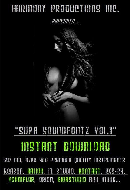 Pay for Super Soundfonts V.1 for Hip Hop and R&B Production