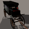 Thumbnail Horse Drawn Hearse for Poser and  DAZ