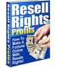 Thumbnail Resell Rights Profits