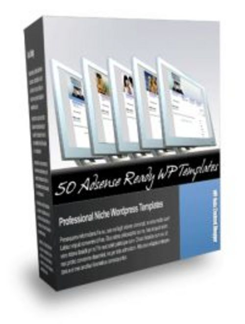 Pay for 50 Wordpress Blog Themes + Resell Rights!