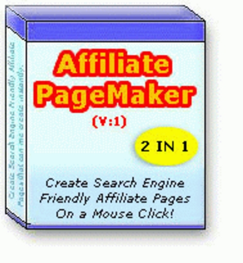 Pay for Affiliate Page Maker Create Search Engine Friendly Affiliate