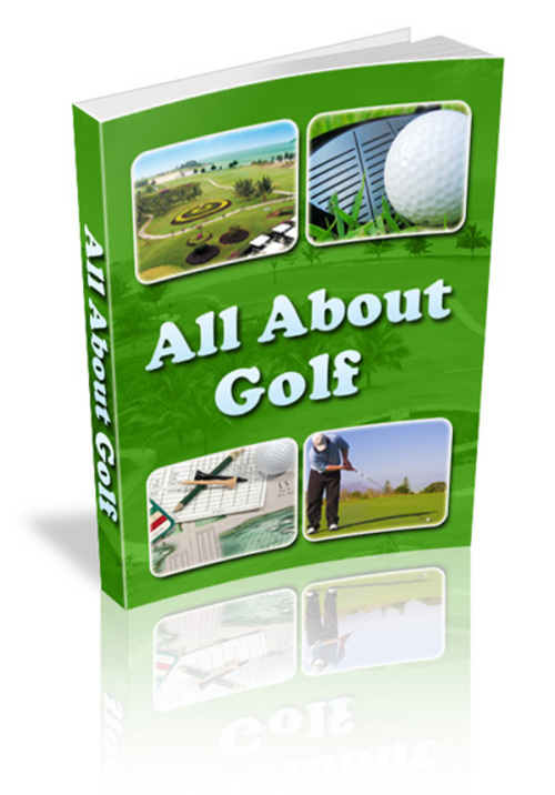 Pay for *new* All About Golf Ebook With Master Resale Rights